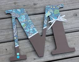 bedazzled wooden letter by pittsburghprepster on etsy home
