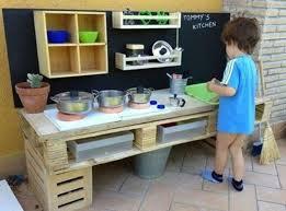 cuisine en palette mobilier en palettes en 81 idées très intéressantes