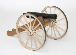 handcrafted reenactment cannon