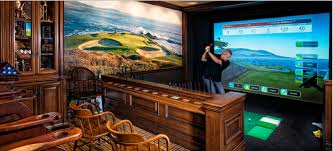 Home Golf Simulator by Ultimate Man Cave And Ultimate Man Cave Roundup Finds Favorite Man