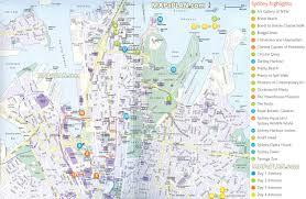 best tourist map of sydney maps with australia attractions map besttabletfor me best