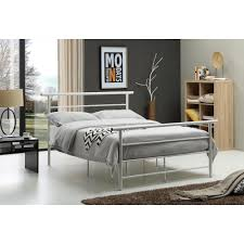 White Twin Bed White Twin Bed Frame Hi829 T Wh The Home Depot