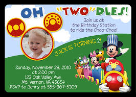 free mickey mouse clubhouse birthday invitations to make fun party