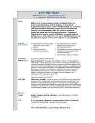 Resume Special Skills Example by 100 Retired Teacher Resume Sample Teaching Resume Good