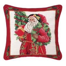 christmas needlepoint christmas needlepoint pillows wayfair