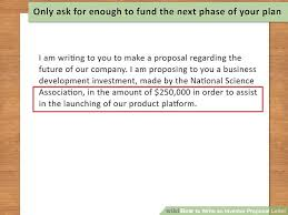 investment proposal business investment agreement proposal