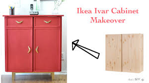 make a sideboard with this easy ikea ivar cabinet makeover