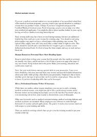 Summary For Medical Assistant Resume The Most Important Thing On Your Resume Executive Summary Research