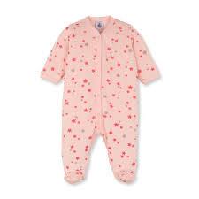 original baby gift idea petit bateau and pink pyjamas
