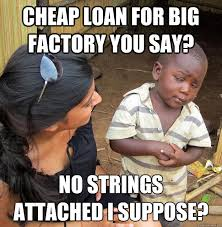 No Strings Attached Memes - skeptical 3rd world child pics