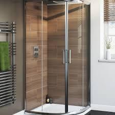 Exterior Doors B Q by Cooke U0026 Lewis Nadina Quadrant Shower Enclosure Tray U0026 Waste W