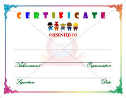 29 best kids certificate templates images on pinterest
