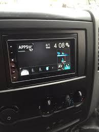 carplay installs pioneer sph da120 in a mercedes sprinter