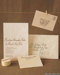 Single Card Wedding Invitations Easy Ways To Upgrade Your Wedding Invitations Martha Stewart
