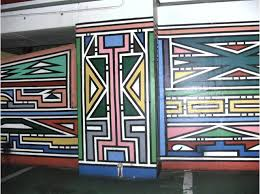 wall pretoria ndebele wall pretoria south africa patterns