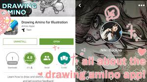 all about the amino drawing app youtube