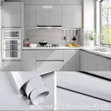 autocollant pour armoire de cuisine 5 0 61m gris papier peint autocollant rouleau adhésif sticker mural