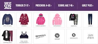 girls u0027 clothing 2t 5t 4 6x and 7 16 clothes for girls