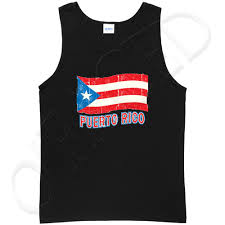 Puerto Rico Flag Puerto Rico Flag Tank Top For Men Distress Puerto Rican Tanks
