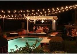 Lights On Patio Lights On Patio Searching For Sival Clear Globe String Lights