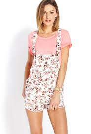 floral overall dress forever 21 dress images