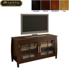 tv stand glass doors tv cabinet with glass doors usashare us