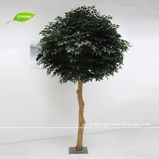 btr044 gnw 10ft high artificial plant wooden ficus tree for weddng