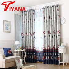 Designer Drapes Compare Prices On Boys Curtains Blackout For Bedroom Online
