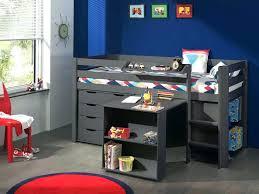 bureau surélevé lit sureleve mi hauteur mezzanine mix match 128 avec bureau