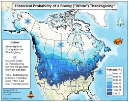 will the us a snowy white thanksgiving