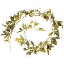 green laurel leaf garland hobby lobby 302075