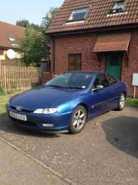 blue peugeot for sale peugeot 2000 406 coupe v6 petrol lpg blue for spares car for sale
