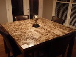Granite Kitchen Table Tops Decorating Clear - Kitchen table granite