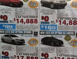 newspaper car ads new car math simanaitis says