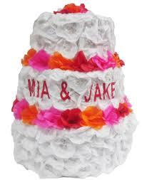 wedding cake pinata custom wedding cake pinata pinatas