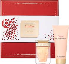 Mr International Tanning Lotion Crfs050014 La Panthère Gift Set With 50ml Eau De Parfum And