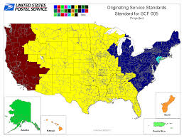 Alaska Time Zone Map by How Network Rationalization Speeds Up Standard Mail And Hastens