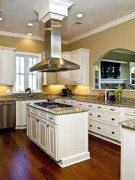 kitchen island with stove stainless steel stove kitchen design with a ceiling