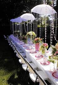 bridal shower table decorations collection in garden party decor ideas bridal shower table