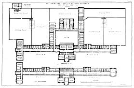 file the floor plan with scale of the criminal lunatic asylum du