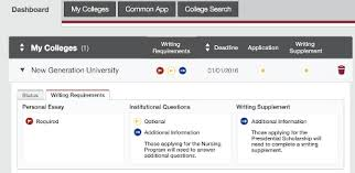 10 biggest changes to the 2015 16 common application college