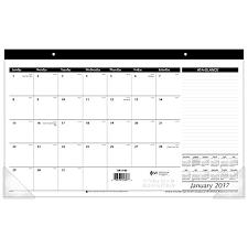 desk pad calendar 2017 at a glance desk pad calendar 2017 compact 17 3 4 x 10 7 8 sk14