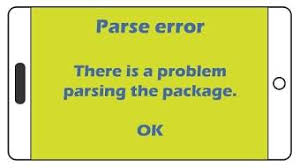 apk error parsing package how to fix parse error there was a problem parsing the package