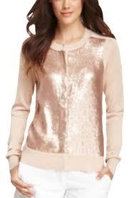 dvf blouse diane furstenberg pink dvf maryse sequin cardigan size 4 s
