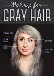 make up tips for salt and pepper hair extremely perfect tips on dark gray hair dye breathtaking world