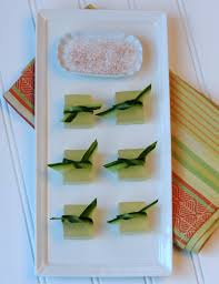 cucumber margarita jelly shot recipes jelly shot test kitchen cucumber lime