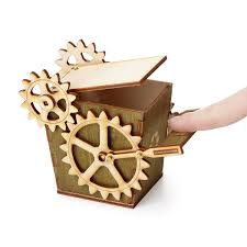 Nailed It Desk Organizer by Steampunk Desktop Recycler Office Recycling Bin Uncommongoods