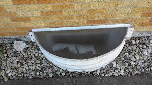 Basement Window Well Drainage by Window Well Covers Window Well Drains