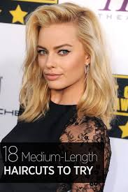 med to long lengh haircuts 40 best medium hairstyles celebrities with shoulder length haircuts