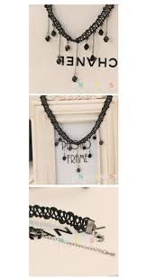 aliexpress com buy 10 styles new 1pc fashion solar powered european and american lace irregular tassel necklace female short